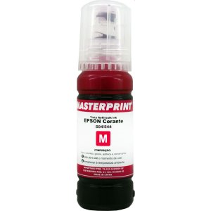 Refil De Tinta Epson Comp. 504/544 Magenta 70Ml Masterprint