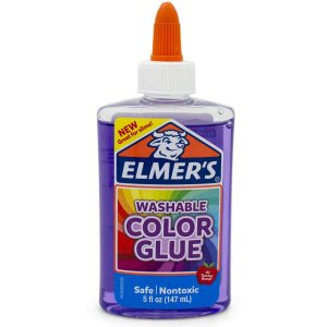 Slime Elmers Purple Transp. 147Ml Toyng
