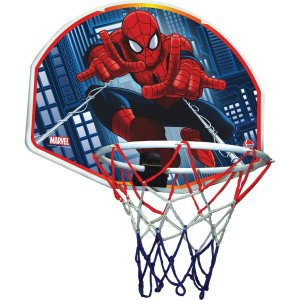 Tabela De Basquete Spider-Man Tabela+Bola Lider
