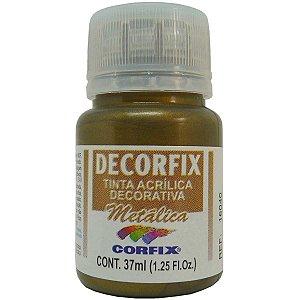 Tinta Acrilica Metalica Decorfix Bronze 37Ml Corfix
