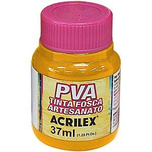Tinta Pva Amarelo Cadmio 37Ml Acrilex