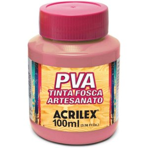 Tinta Pva Flamingo 100Ml. Acrilex