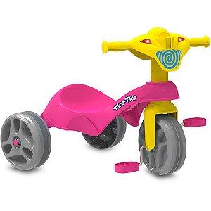 Triciclo Tico-Tico Club Rosa Brinq. Bandeirante