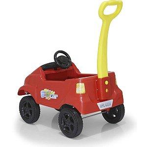 Veiculo Para Bebe Baby Car Compact Vermelho Homeplay