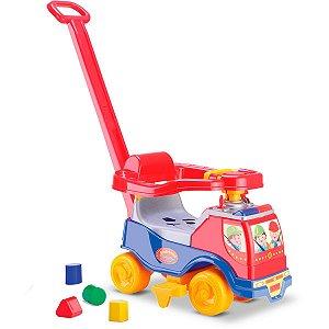 Veiculo Para Bebe Totoka Plus Menino C/ Sons Cardoso Toys