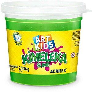 Slime Kimeleka Slime Verde 2,5 Kg. Acrilex