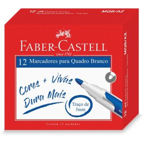 Pincel Quadro Branco Azul Faber-Castell