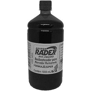 Tinta Marcador Permanente Reabastecedor 1000Ml Preto Radex