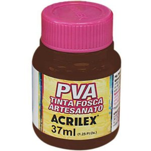 Tinta Pva Chocolate 37Ml Acrilex
