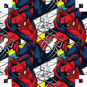 Plastico Adesivo 45Cmx10M Spider-Man Pvc V.m.p.