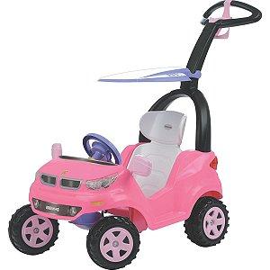 Veiculo Para Bebe Push Baby Easy Ride Rosa Biemme