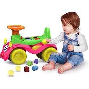 Veiculo Para Bebe Totokinha Bolinha Menina Cardoso Toys