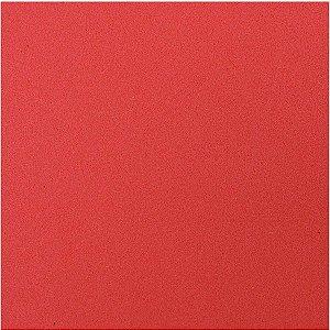 Placa Em Eva Atoalhado 48X40Cm Vermelho 2Mm Make+