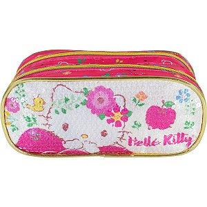 Estojo Pvc Hello Kitty Magic Touch Duplo Xeryus