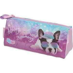 Estojo Pvc Pack Me Puppy Dog Triangular Pacific