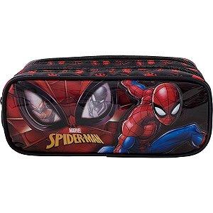 Estojo Pvc Spider-Man R2/21 Duplo Xeryus