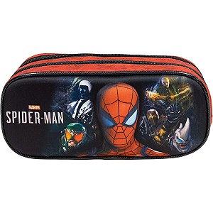 Estojo Pvc Spider-Man S1/21 Duplo Xeryus