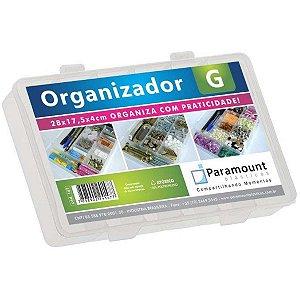Acessório Para Casa Box Organizador G 28X17,5X4 Cr Paramount