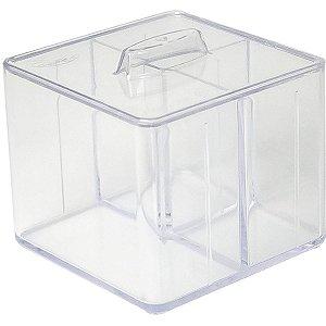 Acessório Para Casa Kit Organizador C/tampa 3 Div. Dello