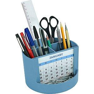 Acessório Para Mesa Mix Organizer Azul Solido Acrimet
