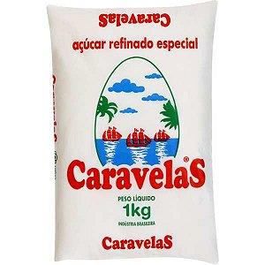 Açúcar Caravelas Refinado 1Kg Caravelas