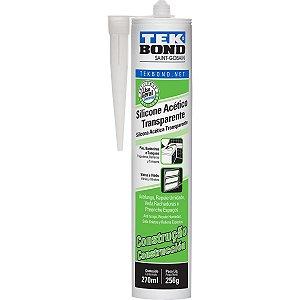 Adesivo De Silicone Acético Construção 270Ml/256G Tekbond