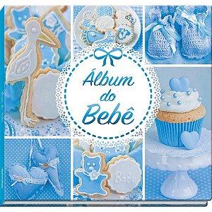 Álbum Do Bebê Azul 48Pgs Vale Das Letras