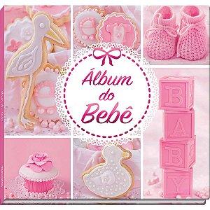 Álbum Do Bebê Rosa 48Pgs Vale Das Letras