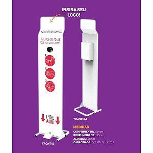 Álcool 70 Dispenser P/álcool Em Gel Mvk