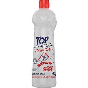 Álcool 70 Gel Bactericida 70° 500G Topform