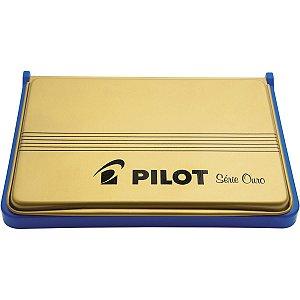 Almofada Carimbo N.3 Azul Pilot