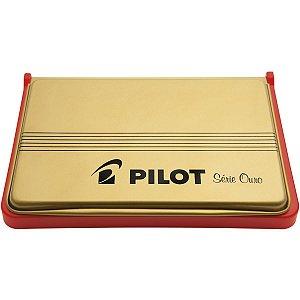 Almofada Carimbo N.3 Vermelha Pilot