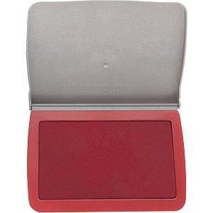 Almofada Carimbo N.3 Vermelha C/tampa Plástica Pilot
