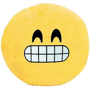 Almofada Pelúcia Emoticon Super Sorriso 30Cm. Soft Toys