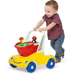Andador Bebê Passeio Didático Merco Toys