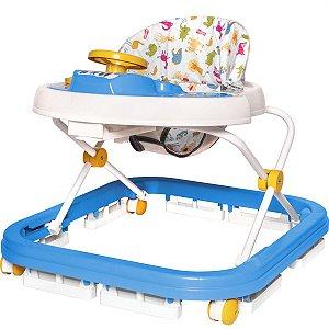 Andador Soft Way Sonoro Azul Styll Baby