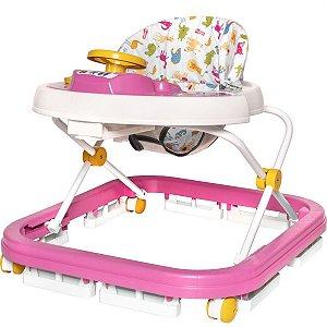 Andador Soft Way Sonoro Rosa Styll Baby