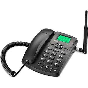 Aparelho Telefônico Com Fio Gsm1000 1Chip Gsm Quad Band Elgin