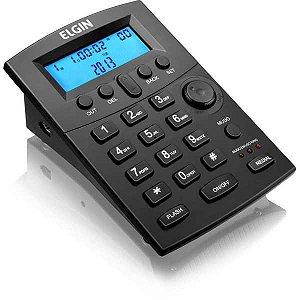 Aparelho Telefônico Com Fio Headset Hst-8000 C/display Az Elgin