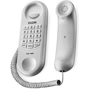 Aparelho Telefônico Com Fio Tcf1000B Gondola Branco Elgin