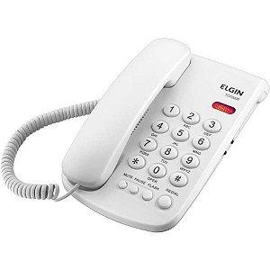Aparelho Telefônico Com Fio Tcf-2000 C/chave Bloqueio Bco Elgin