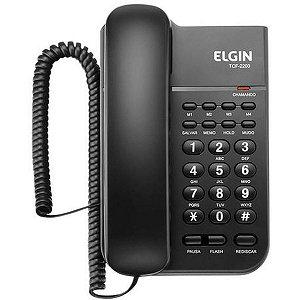 Aparelho Telefônico Com Fio Tcf2200 Elgin