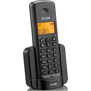 Aparelho Telefônico Sem Fio Ramal P/expansão Linha 8001 Pt Elgin