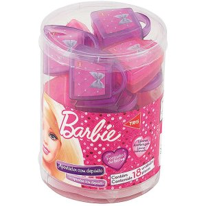 Apontador Com Depósito Decor. Barbie Bolsa 2 Modelos Sort Summit