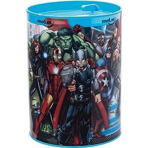 Apontador Com Depósito Decor. The Avengers 1 Furo Sortidos Molin
