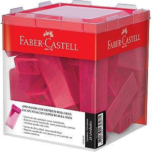 Apontador Com Depósito Rosa Faber-Castell
