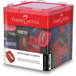 Apontador Sem Depósito Simples Clássico Faber-Castell