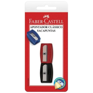 Apontador Sem Depósito Simples Clássico Sortido Faber-Castell