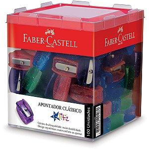 Apontador Sem Depósito Simples Glitz Faber-Castell