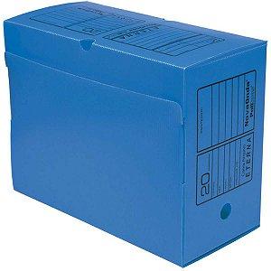 Arquivo Morto Polipropileno Novaonda Gigante Azul 38X17X29 Polibras